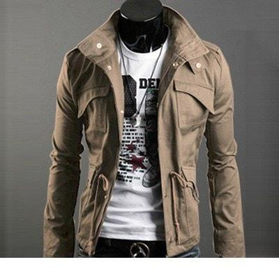 ... menu0027s military style jacket ... lqzpazt