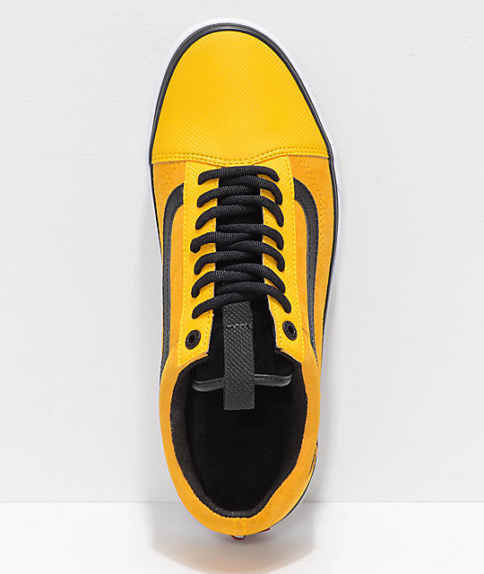 ... vans x the north face old skool mte yellow shoes ... hiqygit