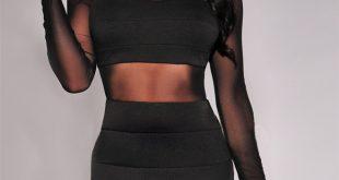 2016 new novelty long sleeve sexy party dresses women backless bodycon  bandage mlziany