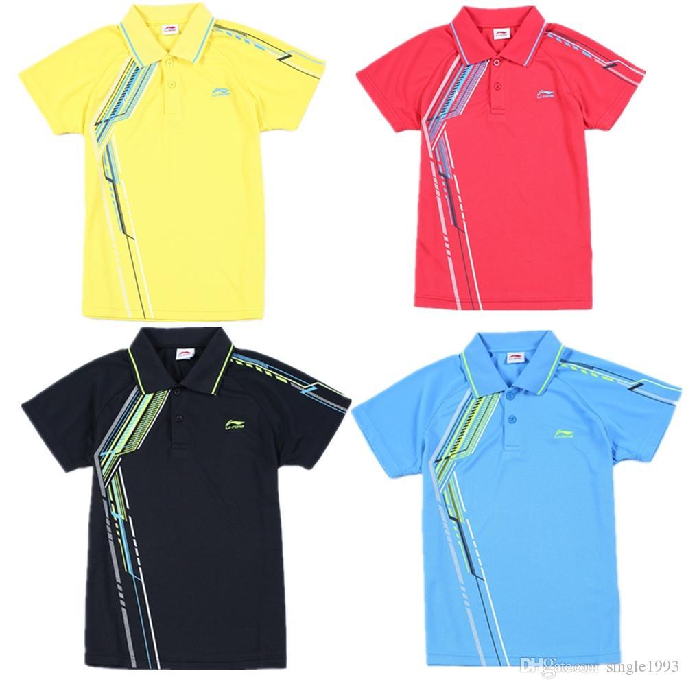 2018 hot new badminton wear sports clothes t shirt man / woman sportswear rggkchd