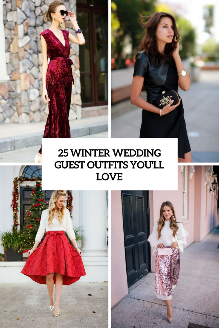 25 winter wedding guest outfits youu0027ll love bynrwcy