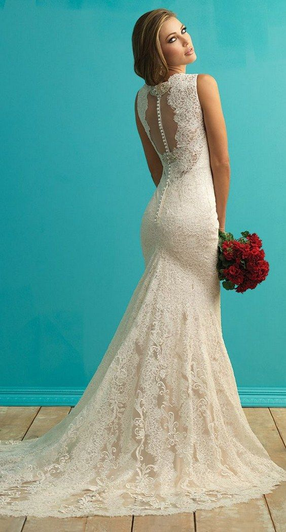 50 beautiful lace wedding dresses to die for aqortbe