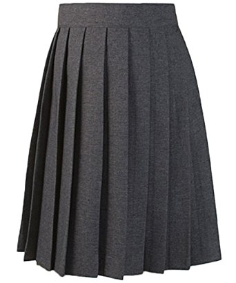 amazon.com: french toast pleated skirt - gray, 16: school uniform skirts:  clothing gppjpzf