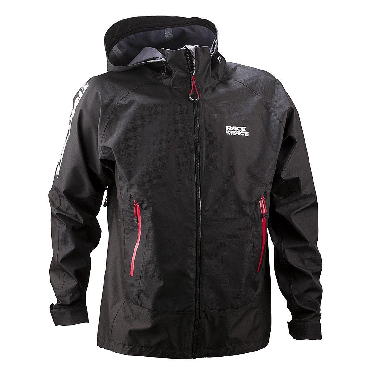 amazon.com: race face team chute waterproof jacket, black, small: sports u0026  outdoors uldobtw