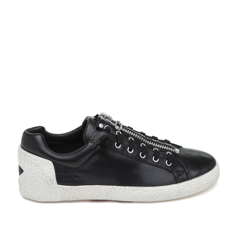 ash sneakers ash nirvana black leather sneaker qbqqtwy