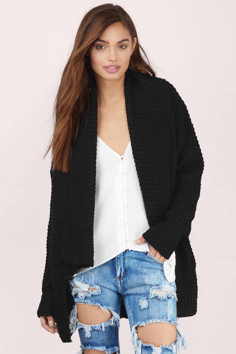 black cardigan serenity grey knitted cardigan mxfzwsm