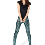 black milk leggings mermaid leggings - limited u203a black milk clothing umpttwl