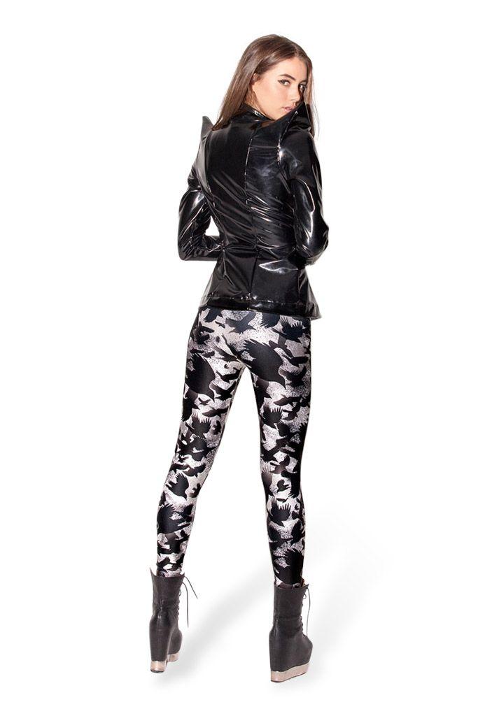 black milk leggings raven leggings oqzmyha