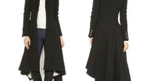 black over coats british style tuxedo manteau femme black long coats for gxnyzyw
