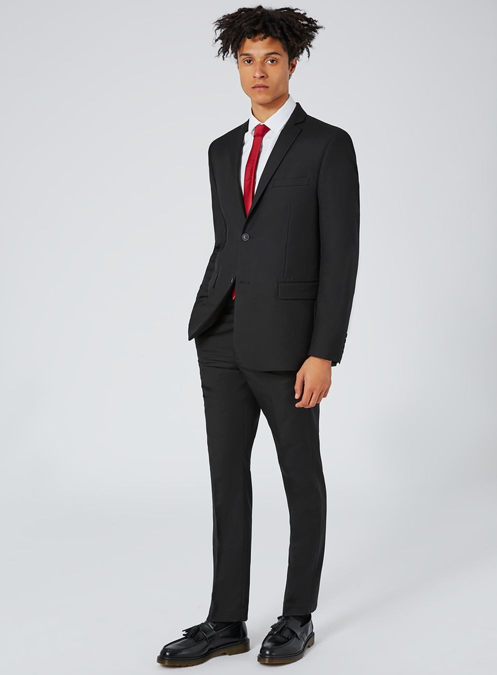 black slim fit suit jacket - topman usa caonfwe