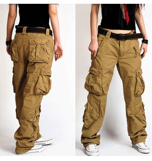 Make a Style statement with Cargo pants for women !