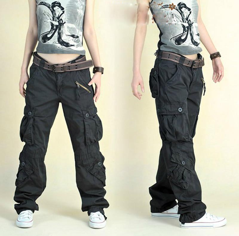 cargo pants for women fashion style autumn summer hip hop loose pants jeans baggy cargo pants for vgjxoig