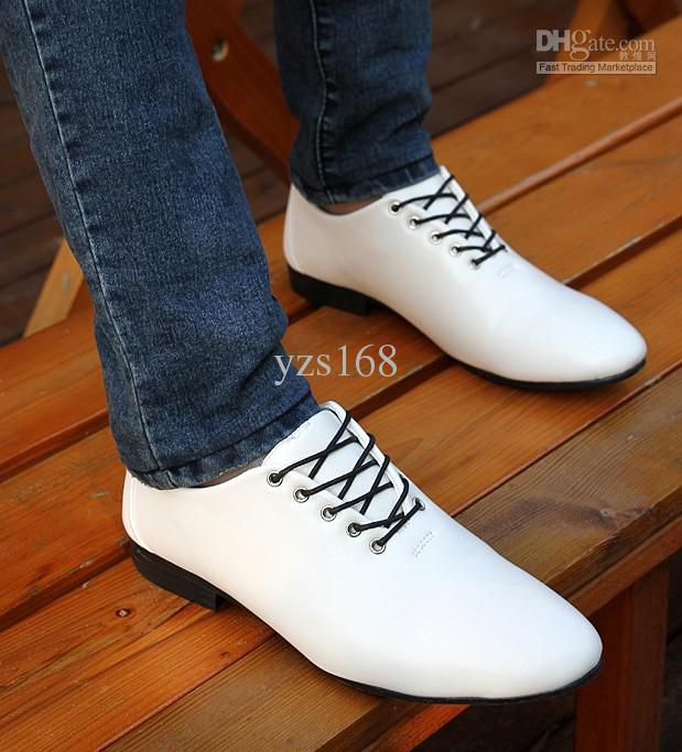 casual shoes for men hot sell south korea style men casual shoes groom wedding shoes pu leather ztfkdoq