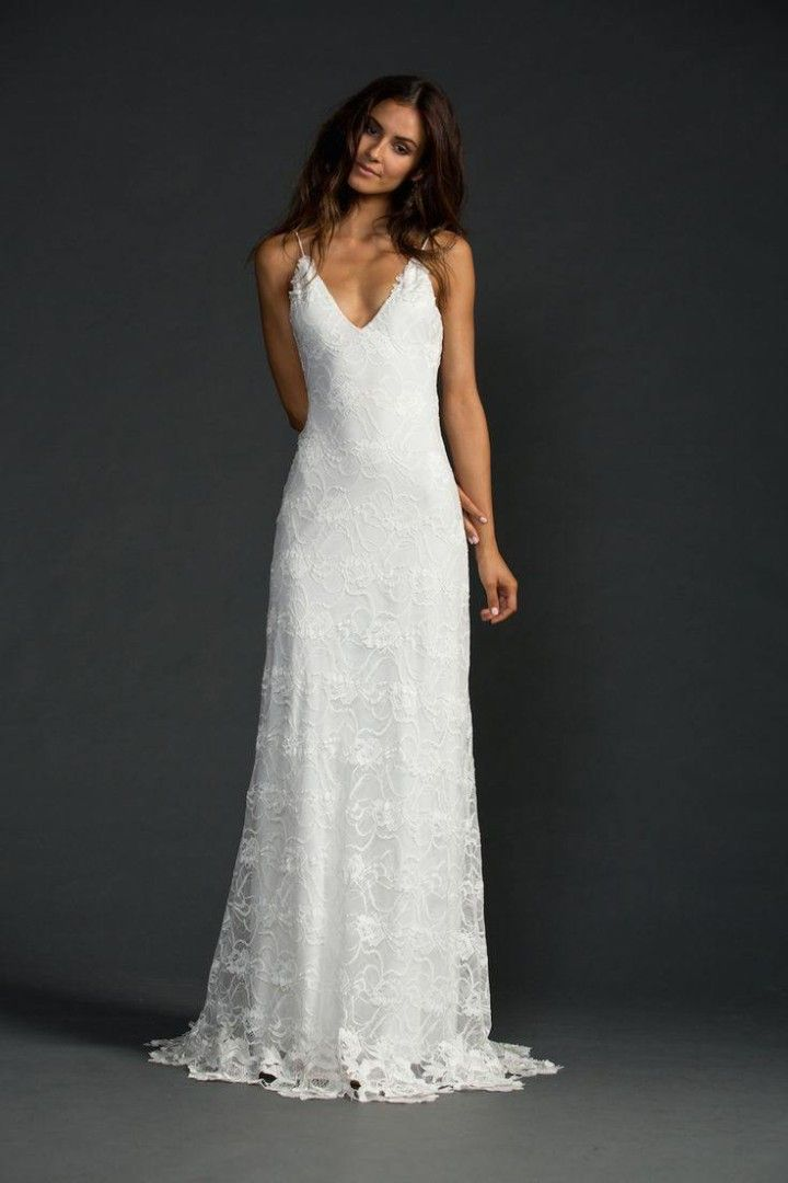 casual wedding dresses for the minimalist qnrdmqb