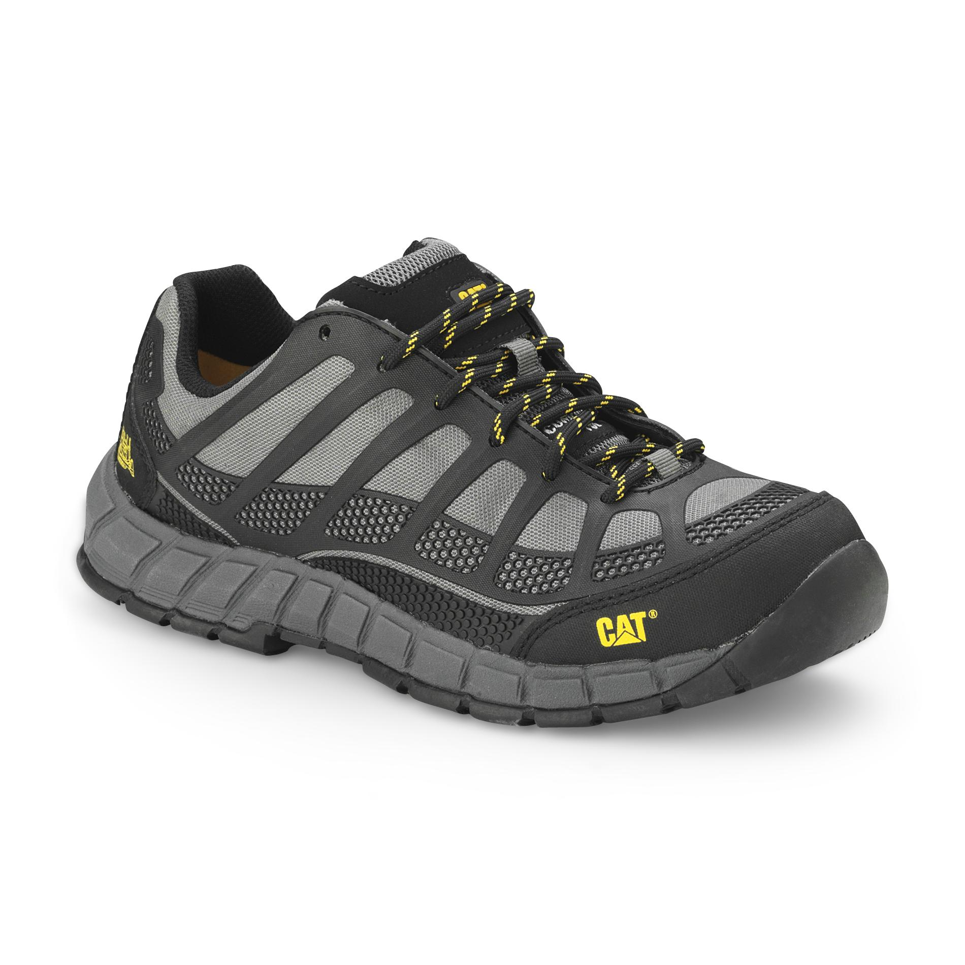 cat shoes cat footwear menu0027s streamline composite toe work shoe p90285 -  charcoal/black yftbwkw