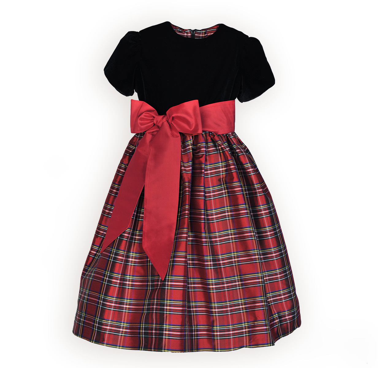 christmas dresses christmas plaid waisted little girls dress ... gryfbky