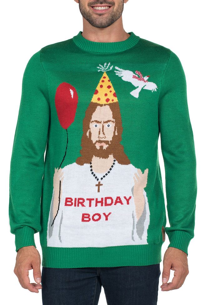 christmas sweaters happy birthday jesus sweater epylmun
