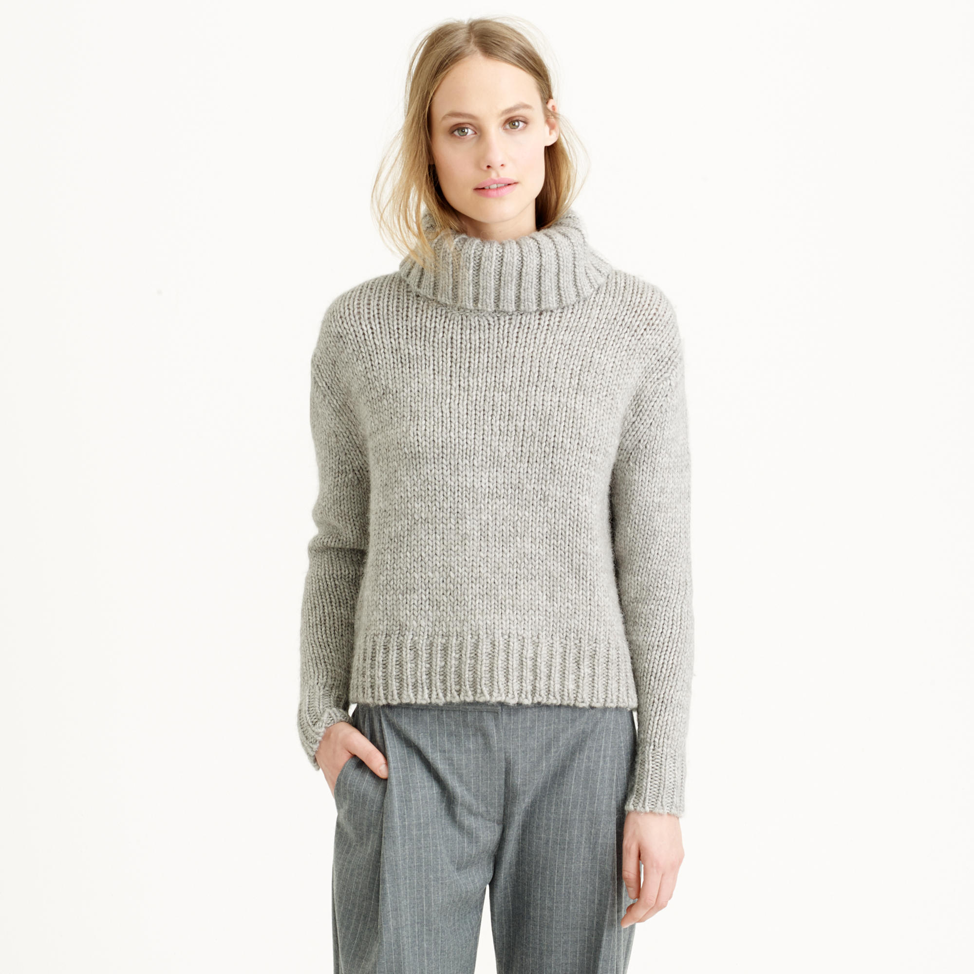 chunky turtleneck sweater qxvteyr