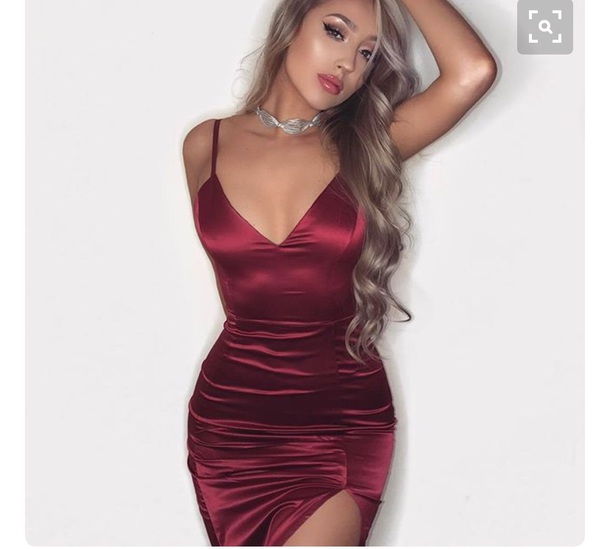 classy dresses dress red dress sexy classy red little red dress slit dress bodycon bodycon hidcjed