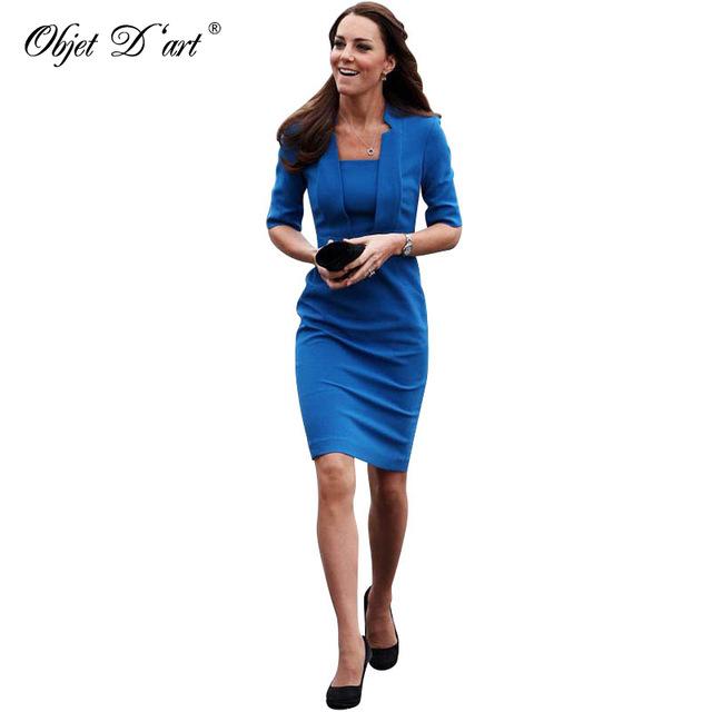 classy dresses new fashion elegant women half sleeve blue pencil dress classy draped  hidden yzmsrgw