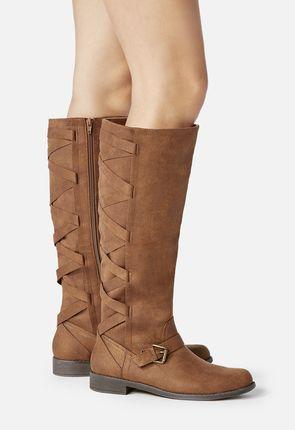 cognac boots arleigh flat boot ilearqm