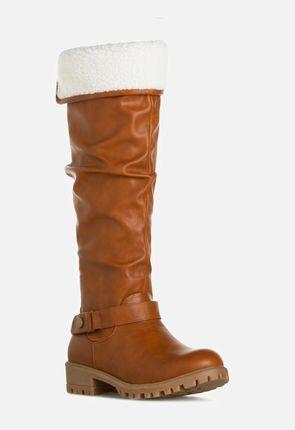 cognac boots cheyann flat boot itvqmra