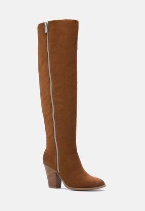 cognac boots paulette heeled boot vbqmnwo