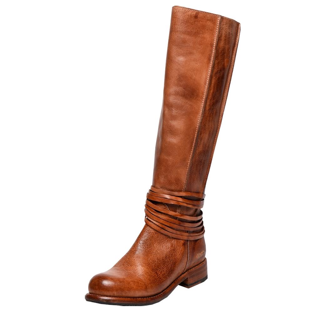 cognac boots womenu0027s bed stu weymouth cognac dip dye riding boots mvyuaoc