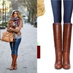 Knee High Cognac Boots- a perfect selection for riding