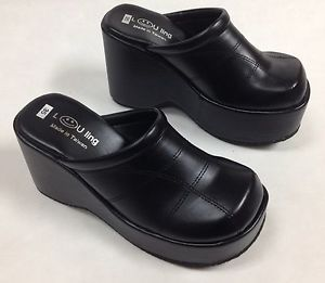 comfort shoes image is loading new-women-soft-amp-comfort-platform-wedge-slides- vpeocjz