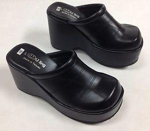 comfort shoes image is loading new-women-soft-amp-comfort-platform-wedge-slides- vpeocjz