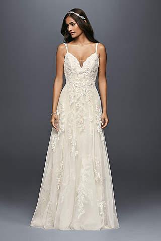 country wedding dresses long a-line beach wedding dress - melissa sweet jvrpuyb