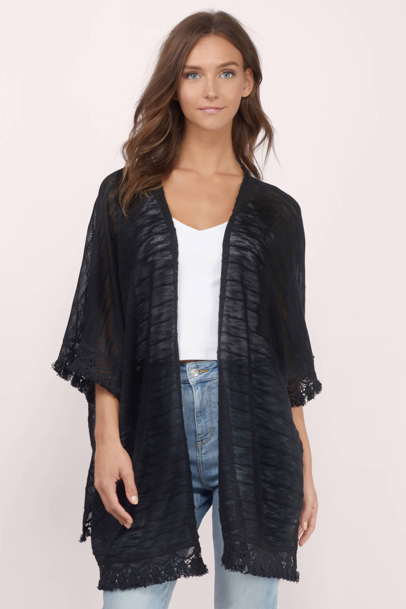 darling nikky black cardigan ijgwxje