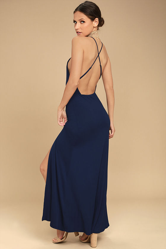 desert skies navy blue backless maxi dress 1 ukxcssd
