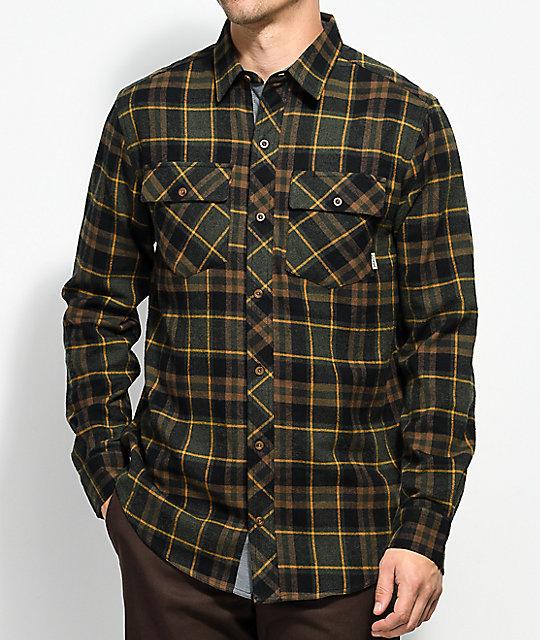 dravus jubal forest, black u0026 gold flannel shirt ... bddgwjc