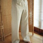 Several of the benefits of linen trousers