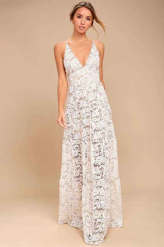 dress the population melina white lace maxi dress 1 iisluwn