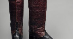 dress wellington boots, circa 1845 thbdteq