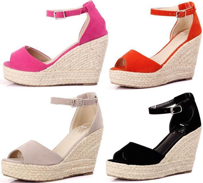 elegant sandals women wedges shoes fashion platform high heels sandals  women open yglnzwj