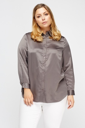embroidered back satin blouse fprqhfk