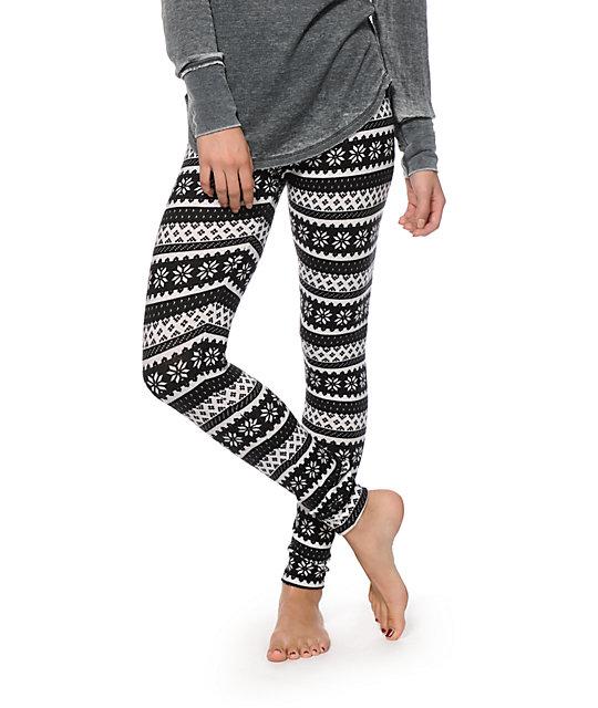 empyre fair isle sweater leggings ... utbqgny