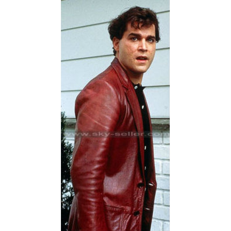 goodfellas ray liotta (henry hill) red leather jacket yjibqvn