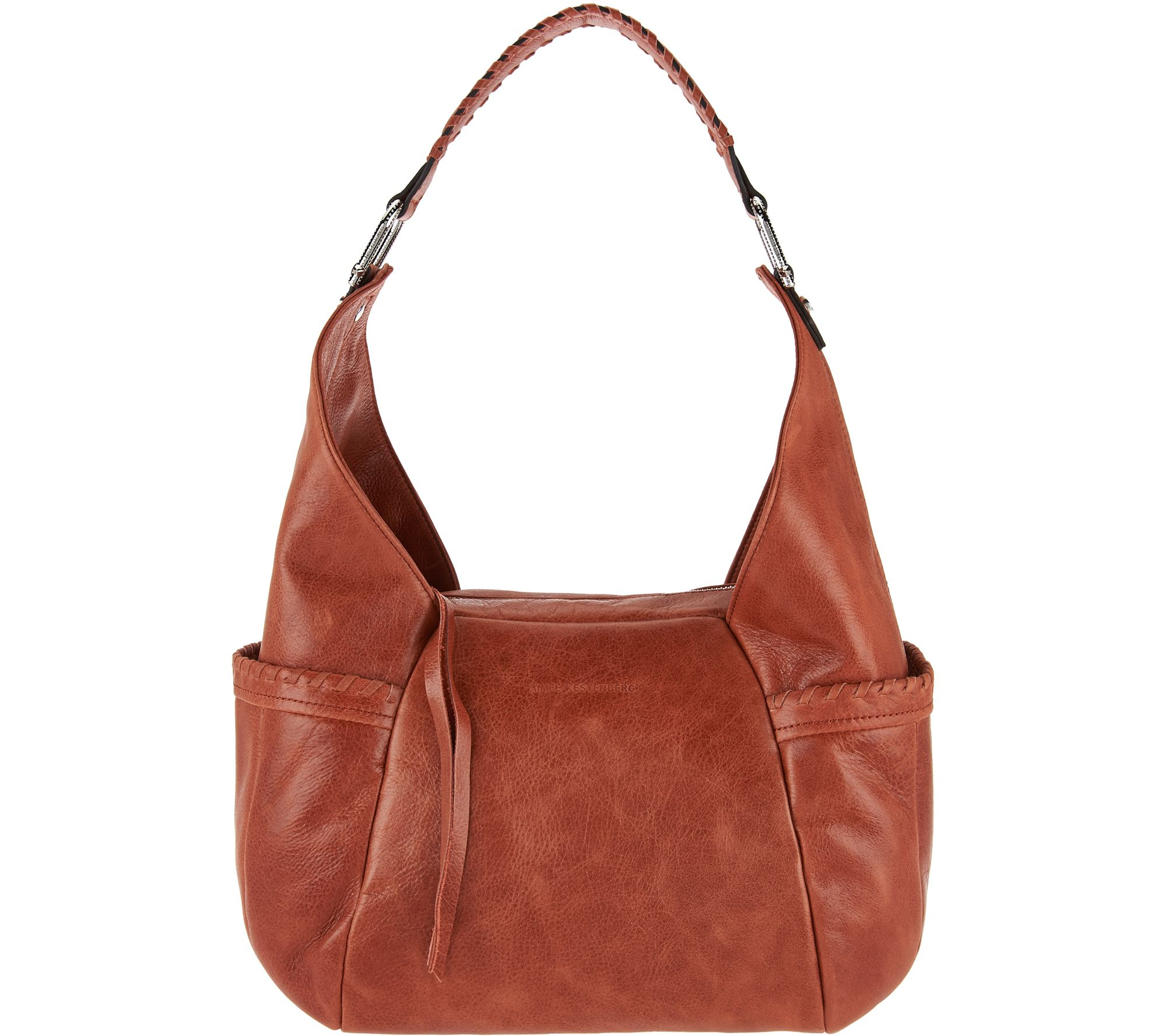 hobo bag aimee kestenberg vintage leather triple entry hobo- laredo - a282569 qjbryie