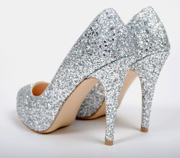 how sparkly heels look great on wedding occasion bqcglwy
