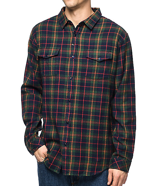 imperial motion townsend navy flannel shirt ... yjhsidb
