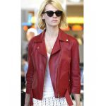 Red leather jackets: Style Of Today