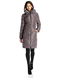 jessica simpson coats fancy jessica simpson jessica simpson womenu0027s long chevron-quilted down coat  with hood ispgirc