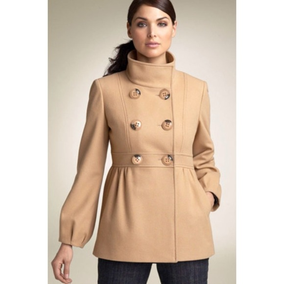 Wearing The long and short of the Jessica Simpson Coats
