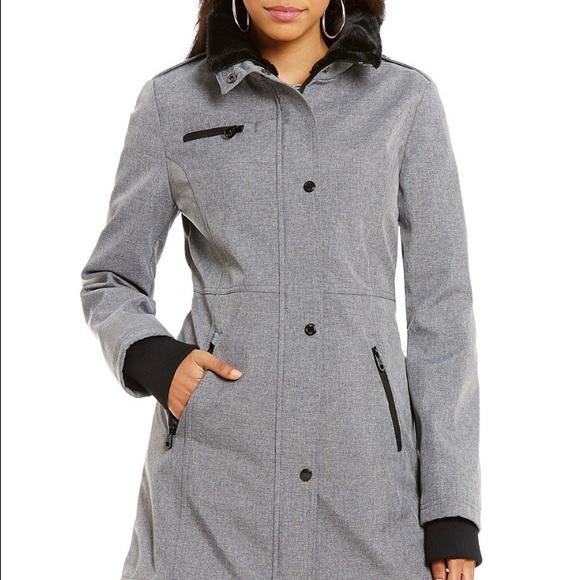 jessica simpson coats jessica simpson jackets u0026 coats - jessica simpson grey coat npvmfsh