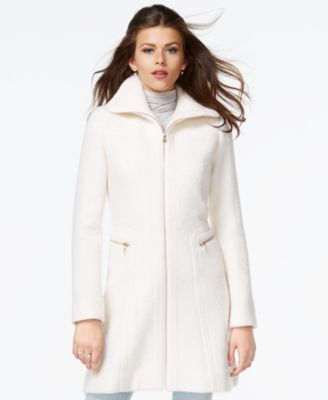 jessica simpson coats jessica simpson zip-front wool coat jcgmsnp